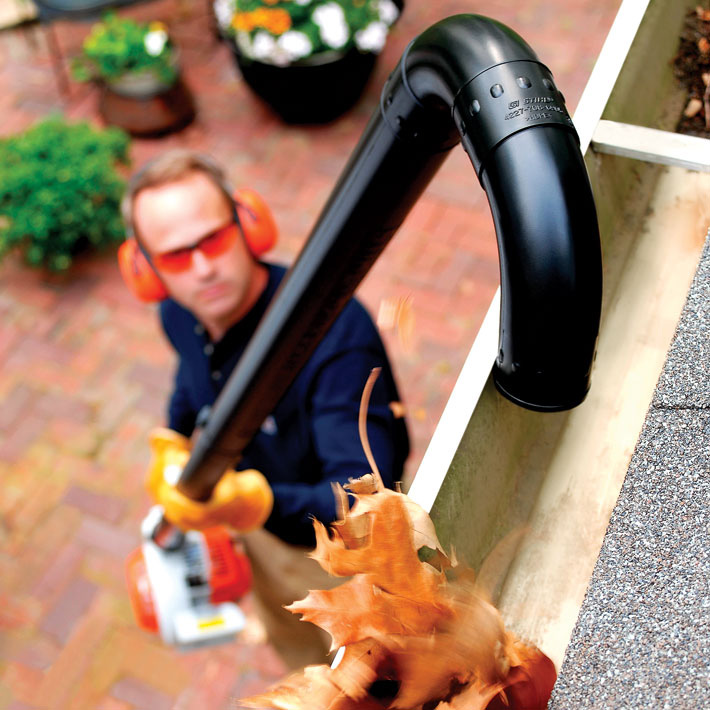 Stihl Professional Yard Blower Gutter Attachment